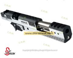 6 Inch Limcat (Two Tone) Slide & Frame for Marui Hi-Capa 5.1 (Limited Edition) by Airsoft Surgeon